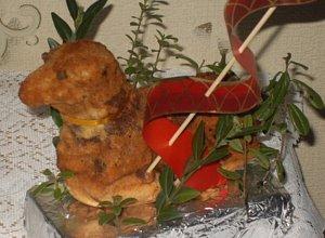 Moje Wielkanocne baranki z ciasta dro�d�owego - ugotuj
