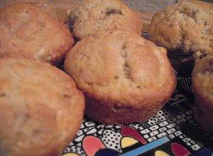 Muffiny bananowo-orzechowe