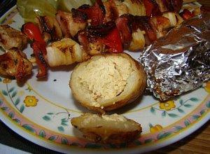 Ziemniaki w beretach