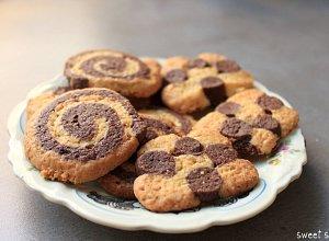 Spiralki czekoladowo-pomara�czowe