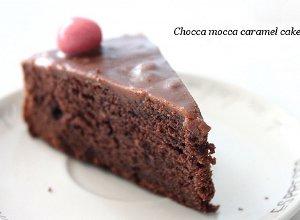 Ciasto czekoladowo-kawowe z karmelem