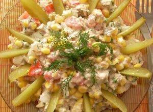 Sałatka z tuńczykiem - ugotuj