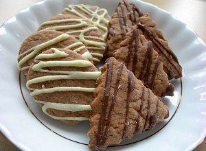 Ciasteczka kakaowo-pomara�czowe