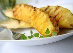 Grillowany ananas - ugotuj