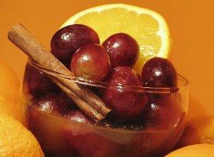 Winogrona w aromatycznym sosie - ugotuj
