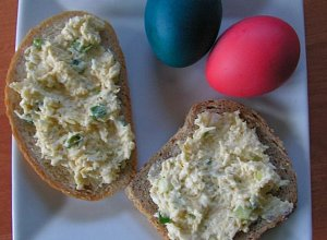 Pasta jajeczno-serowa