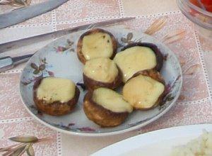 grillowane pieczarki - ugotuj