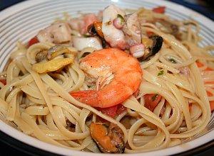 Spaghetti frutti di mare - ugotuj