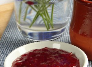 Dżem rabarbarowo-truskawkowy