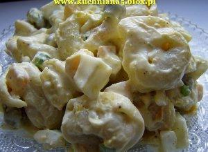 Sałatka tortellini z dynią konserwową - ugotuj