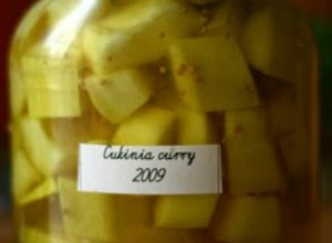 Cukinia curry