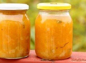 Chutney dyniowo gruszkowy