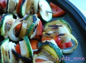 Warzywne grillowane szaszłyki - ugotuj