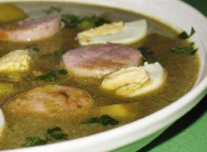Zupa szczawiowa - ugotuj