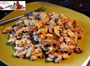 Ry� w jajku z kurczakiem - ugotuj