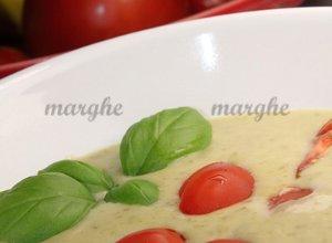 Bazyliowa zupa krem z pomidorami
