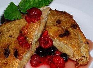 Owocowe tosty - ugotuj