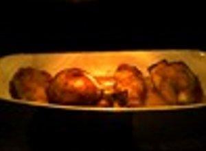 N�ki kurczaka w polewce miodowej