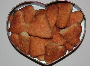 Pomara�czowe kruche ciasteczka