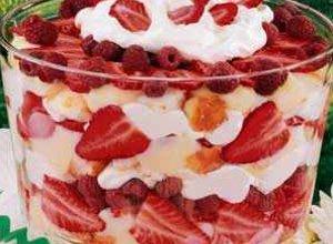 Trifle truskawkowe