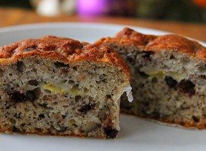 Muffiny bananowo-czekoladowe - ugotuj