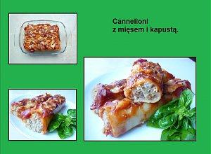 Cannelloni z mięsem i kapustą - ugotuj