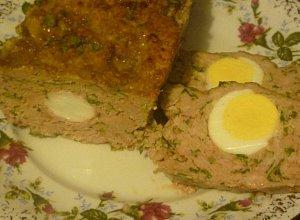 Klops z jajem - ugotuj