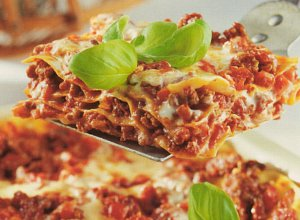 Lasagne palce liza�! Z kukurydz�