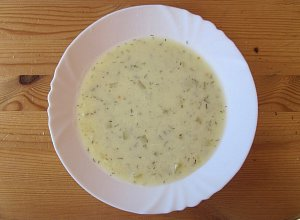 Zupa ze �wie�ego og�rka