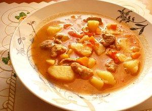 Meksyka�ska zupa gulaszowa - ugotuj