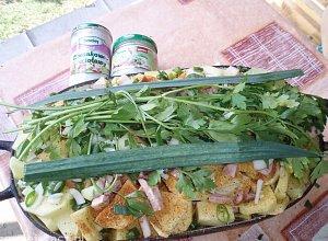 Kocio�ek z ziemniakami (na ognisku)