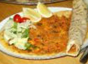 Lahmacun (placek) wegetariański - ugotuj