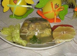 Galaretka warzywna z kurczakiem - ugotuj