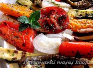 Warzywa grillowane na patelni