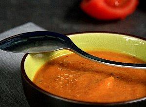 Krem dyniowo-pomidorowy z piernikową nutą - ugotuj