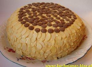 Tort z masą krówkową - ugotuj