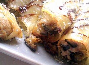 Cannelloni z bak�a�anem i ricott�