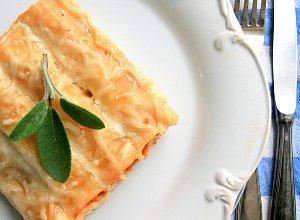 Pomidorowe cannelloni z indykiem i kandyzowan� pomara�cz�