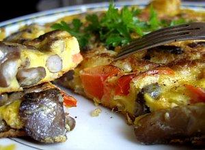 Omlet grzybowy