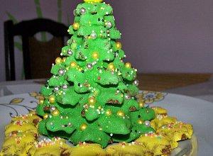 Choinka z pierników - ciasteczka