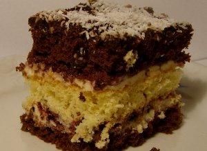 Ciasto z czarn� porzeczk�