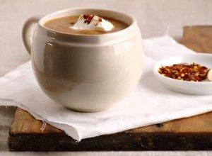 Zupa z soczewicy i suszonych pomidor�w