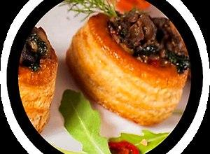 Ślimaki ze szpinakiem w cieście francuskim - ugotuj