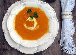Rozgrzewąjaca zupa marchewkowa na ostro - ugotuj
