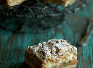 Pszenno-razowe ciasto z rabarbarem - ugotuj