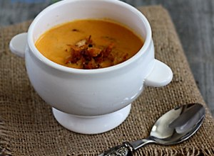 Zupa curry z kurczakiem i jabłkiem - przepis blogera - ugotuj