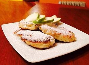 Dro�d�owe racuchy z jab�kami - ugotuj