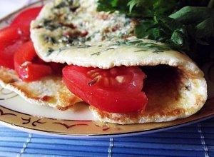 Omlet zielony, czyli z natk� pietruszki usma�ony