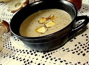 Grzybowa zupa-krem - ugotuj