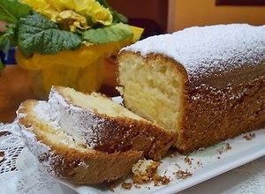 Babka cytrynowa z cukrem pudrem - ugotuj